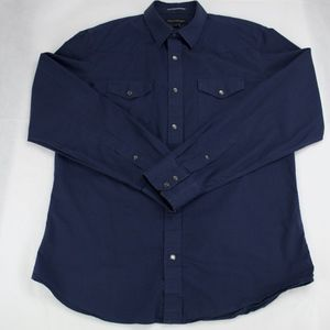 Banana Republic Snap Button Down Shirt